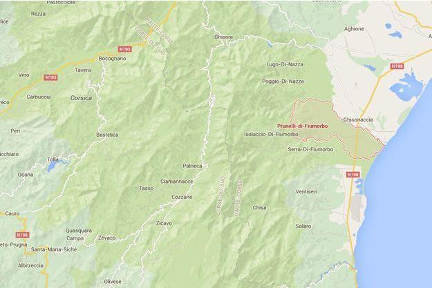 Prunelli-di-Fiumorbu , en Haute-Corse.
