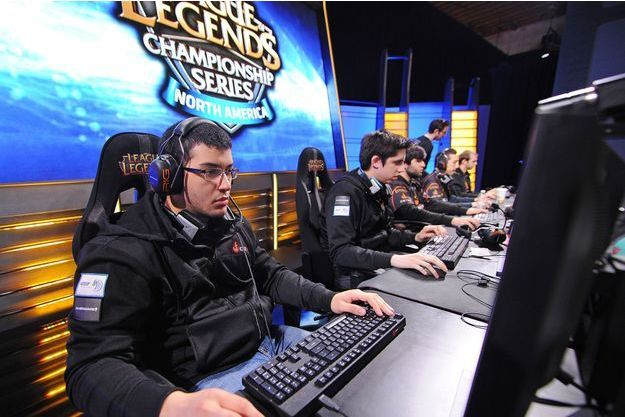 Un tournois de League of Legends