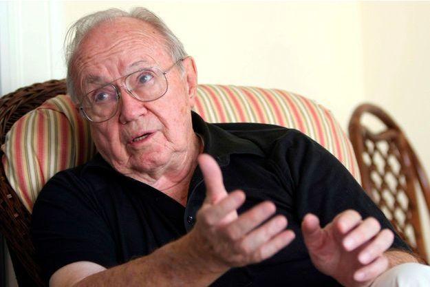 Theodore Van Kirk, chez lui à Stone Mountain, en Géorgie, le 25 juillet 2005.