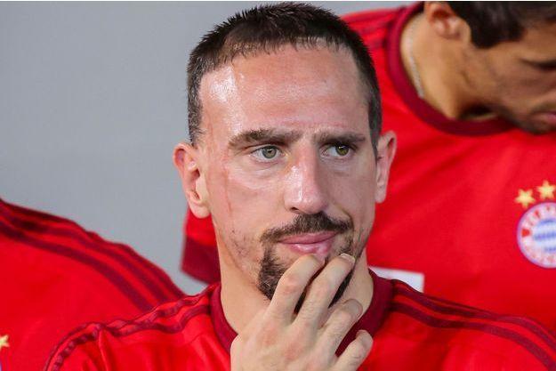 Franck Ribéry, le 7 juillet 2015