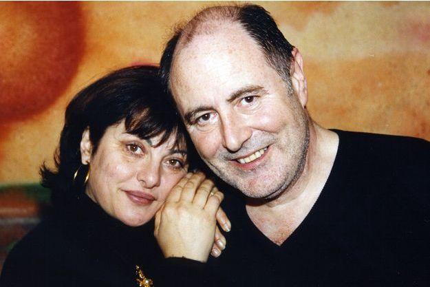Michel Delpech et son épouse, Geneviève