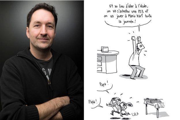 Guy Delisle, père indigne, mais seulement en dessins...