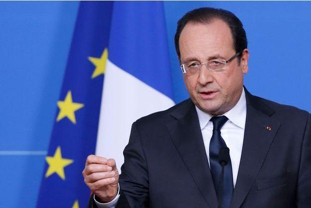 François Hollande le 28 juin à Bruxelles.