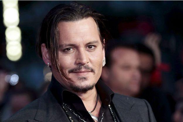 """Johnny Depp à la première britannique du film """"Strictly Criminal"""" à Londres le 11 octobre dernier."""