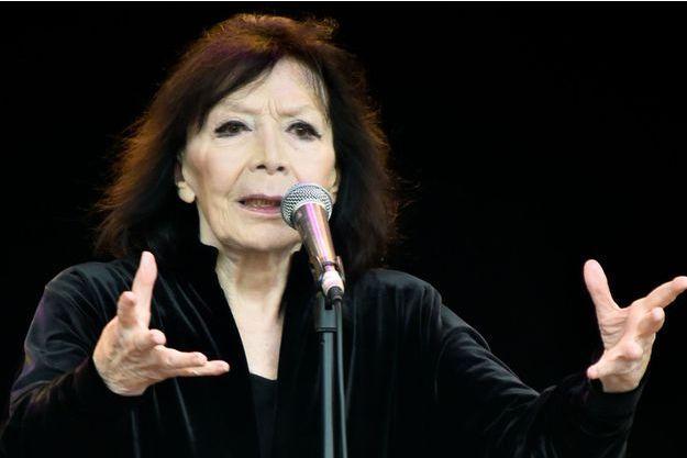 Juliette Gréco, le 13 septembre 2015.