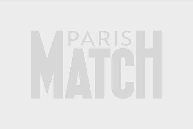 Le 26 juillet, place de la République à Paris, lors de la manifestation en soutien à Gaza.
