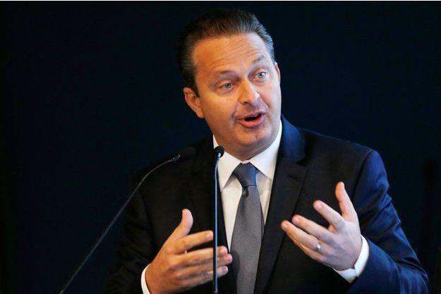 Eduardo Campos lors d'une conférence, le 30 juillet 2014.
