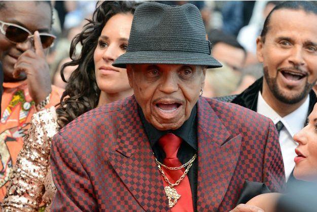 Joe Jackson, le père de Michael Jackson, assiste au 68e Festival de Cannes le 19 mai dernier.
