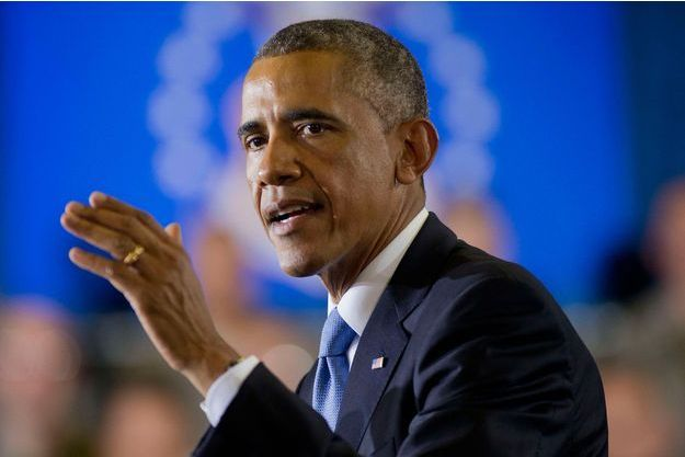 Barack Obama, le 17 septembre 2014, en Floride.