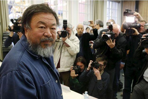 Ai Weiwei lundi à Berlin.