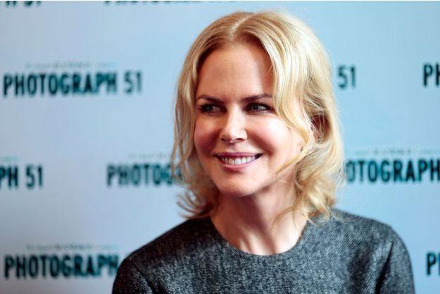 """Nicole Kidman joue actuellement dans la pièce de théâtre """"Photograph 51"""" à Londres (7 septembre 2015)."""