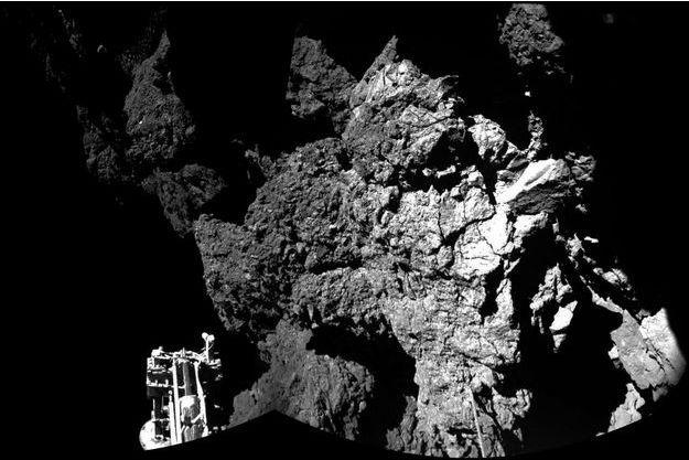Une photo du robot Philae, prise par la sonde Rosetta