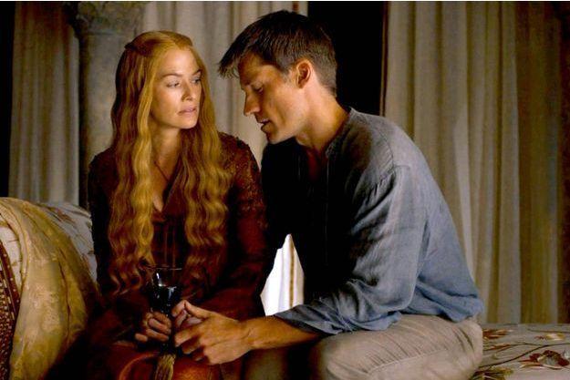 Dans l'épisode 1 de la saison 4, Jaime Lannister retrouve sa soeur et amante Cersei.