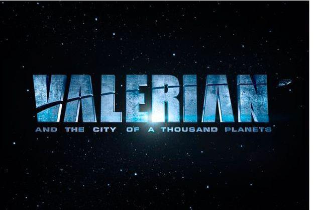 """Le premier visuel du film """"Valérian"""" posté par Luc Besson sur les réseaux sociaux."""