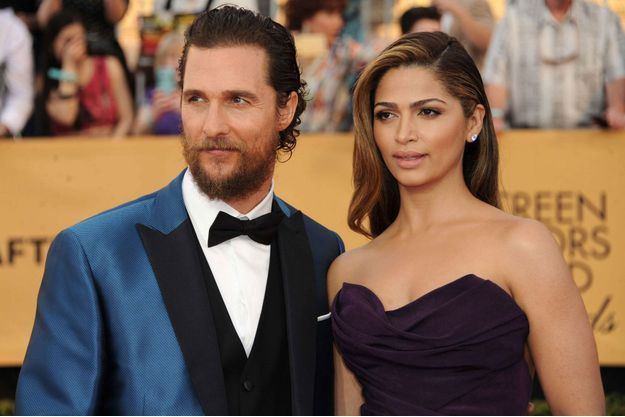 Matthew McConaughey et sa femme, Camila Alves, Los Angeles 2015