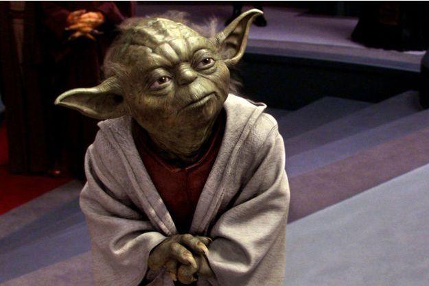 """Yoda dans """"Star Wars II — L'Attaque des clones"""" (2002)."""
