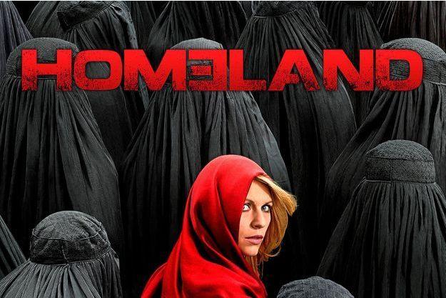 """L'affiche de la saison 4 de """"Homeland"""""""