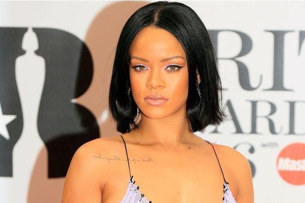 Rihanna le 24 février 2016