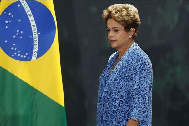 Le présidente du Brésil, Dilma Rousseff, le 26 mai dernier.