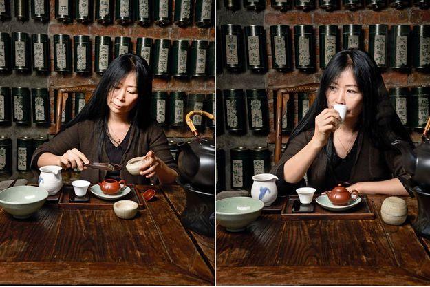 Dans la noble famille chinoise de maître Tseng, le thé est un rituel ancestral qu'elle a étudié depuis son jeune âge. Ici, dans sa boutique de la place Monge à Paris. Pour trouver les plus précieux, elle mène une enquête dans les villages de Chine.