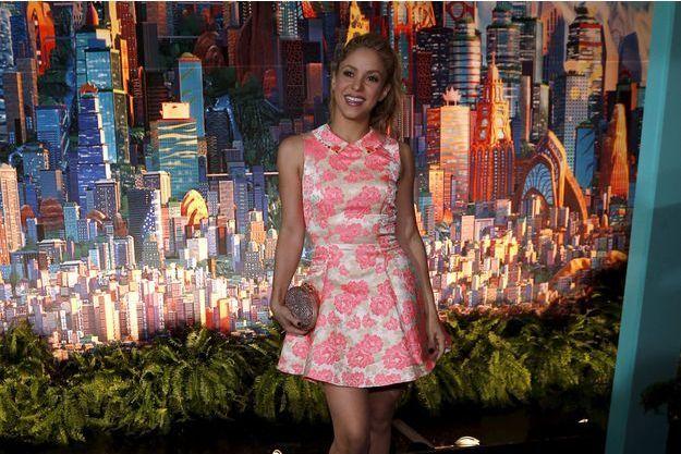 Shakira le 18 février 2016