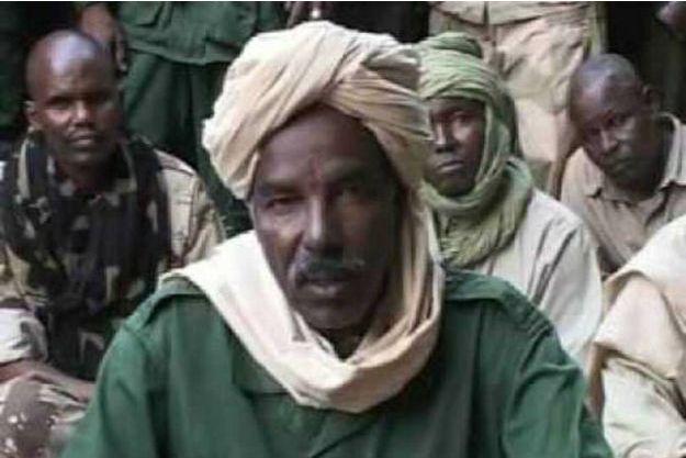 Le général Mahamat Allatchi Nouri ici au Tchad lors de sa tentative de coup d'Etat en février 2008
