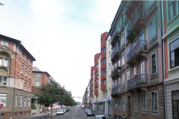 La victime a été poignardée dans le hall d'un immeuble du quartier de la gare de Strasbourg.