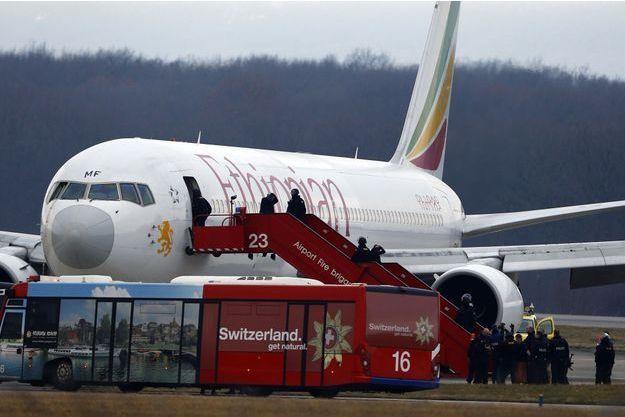 Les passagers sont tous sains et saufs.