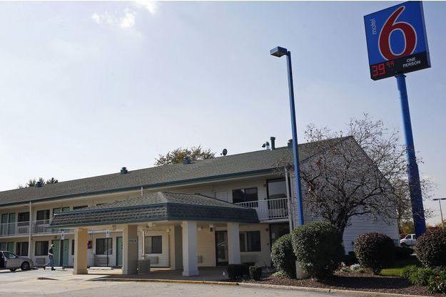 Le motel où le corps de la dernière victime de Darren Deon Vann a été retrouvé, à Hammond.