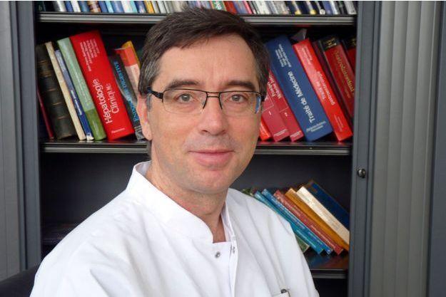 Marc Barthet, chef de l'unité endoscopique digestive de l'hôpital Nord de Marseille.