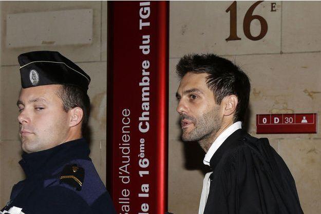 Me Pierre Darkanian, l'avocat de Flavien Moreau, au tribunal correctionnel de Paris.