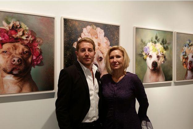 Sébastien Adrien et Gala Kavachnina, les galeristes.
