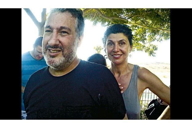 Spencer Tunick et Valérie Abécassis à Ein Gedi