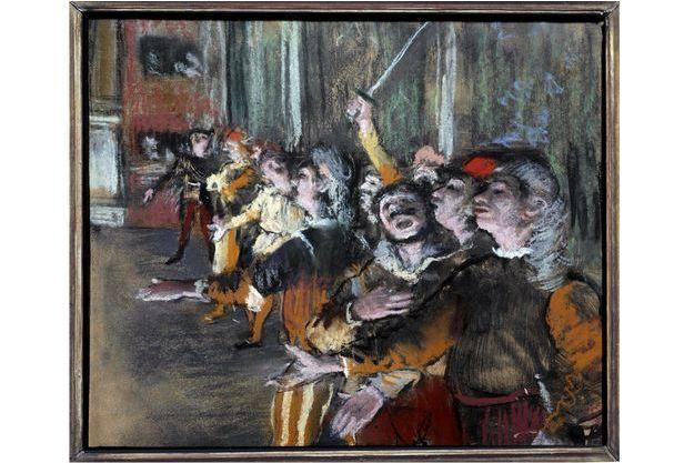 """""""Les Choristes"""" de Degas."""