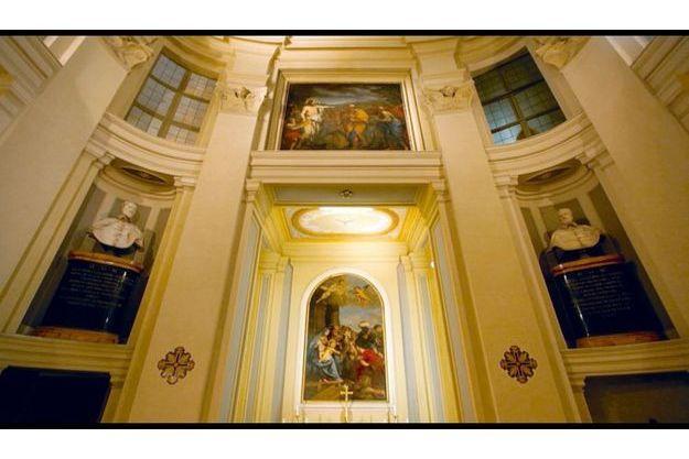 La chapelle de Borromini et Bernin