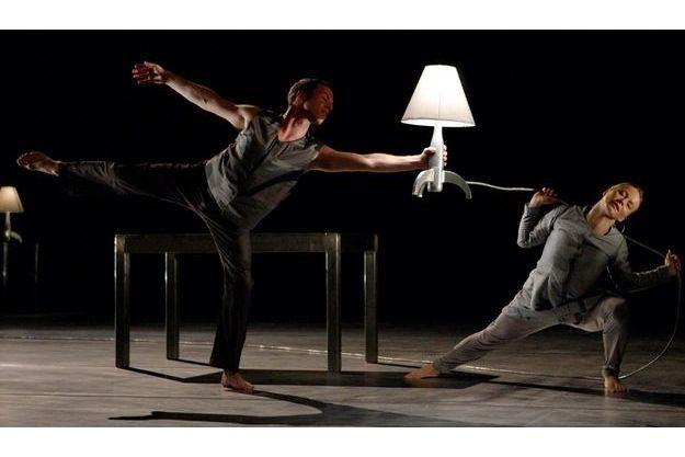 """""""Aluminium"""": une chorégraphie de Mats Ek, à Singapour, en 2009."""