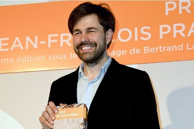 Le lauréat du prix Jean-François Prat, Jānis Avotiņš.