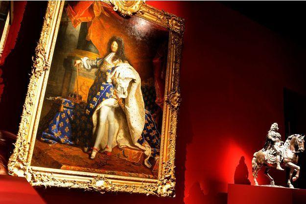Le portrait de Louis XIV par Hyacinthe Rigaud