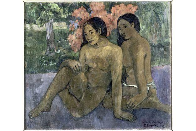 """""""Et l'or de leurs corps"""" (1901), de Paul Gauguin."""