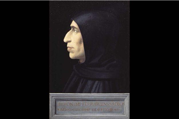 Dans un portrait de Savonarole, Fra Bartolomeo, lui-même dominicain, révèle l'austérité et l'inquiétante spiritualité du fou de Dieu chrétien.
