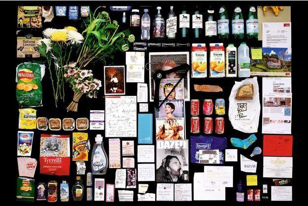Chez Kate Moss Coca, chips, bonbons, saint-émilion... avec la « brindille », rien n'est light.
