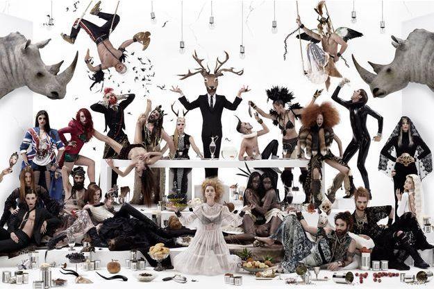 Le photographe Gérard Rancinan présente la dernière pièce de sa Trilogie des Modernes. Une critique sans concession des outrances de notre société.