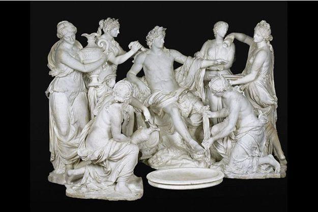 « Apollon servi par les nymphes », marbre, François Girardon et Thomas Regnaudin, 1667-1675.