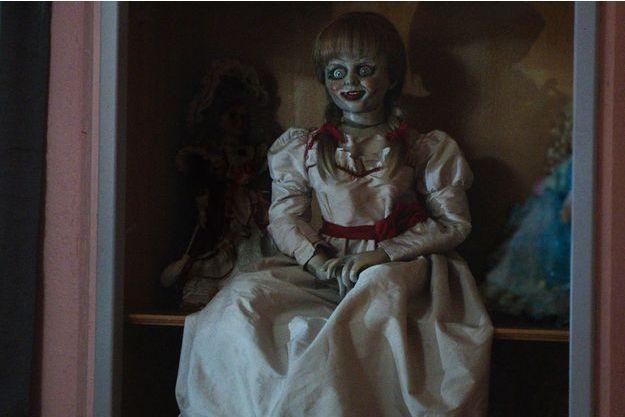 La poupée hantée Annabelle.