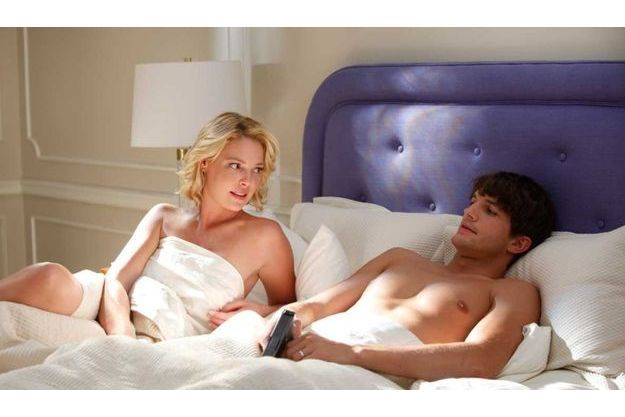"Dans ""Kiss&Kill"", Ashton Kutcher donne la réplique à Katherine Heigl."