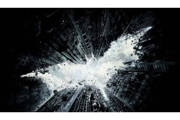 Une affiche de The Dark Knight Rises