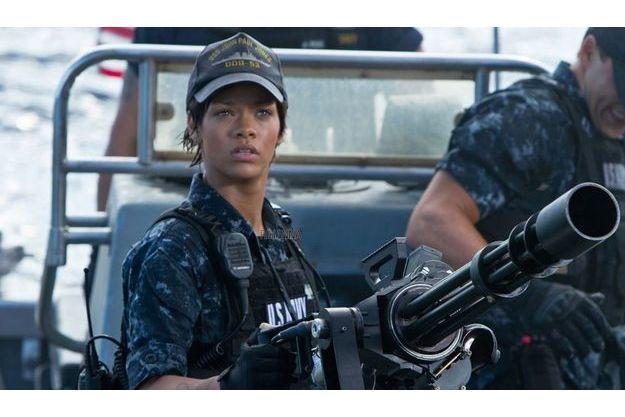 "Rihanna dans ""Battleship""."
