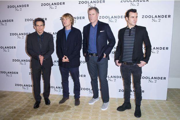 """Le casting de """"Zoolander 2"""" était à Paris ce 29 janvier."""
