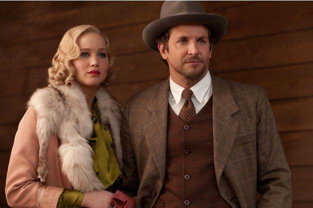"Jennifer Lawrence et Bradley Cooper dans ""Serena"" en salles ce mercredi."
