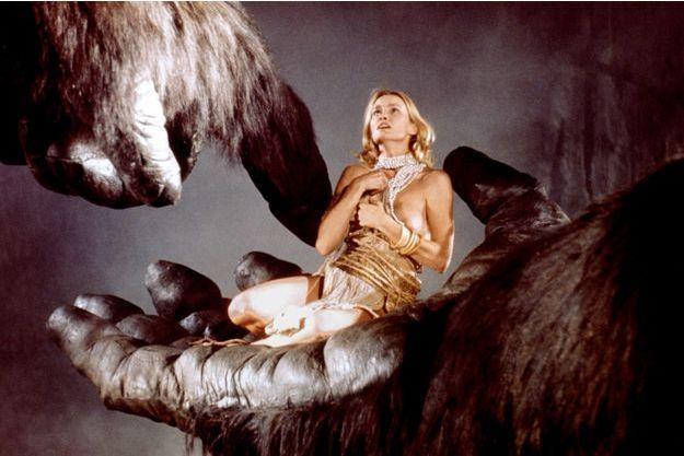 "Jessica Lange dans ""King Kong"" de John Guillermin"